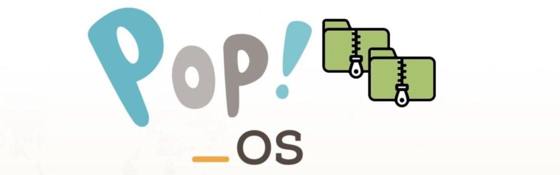 Pop!_OS banner compression