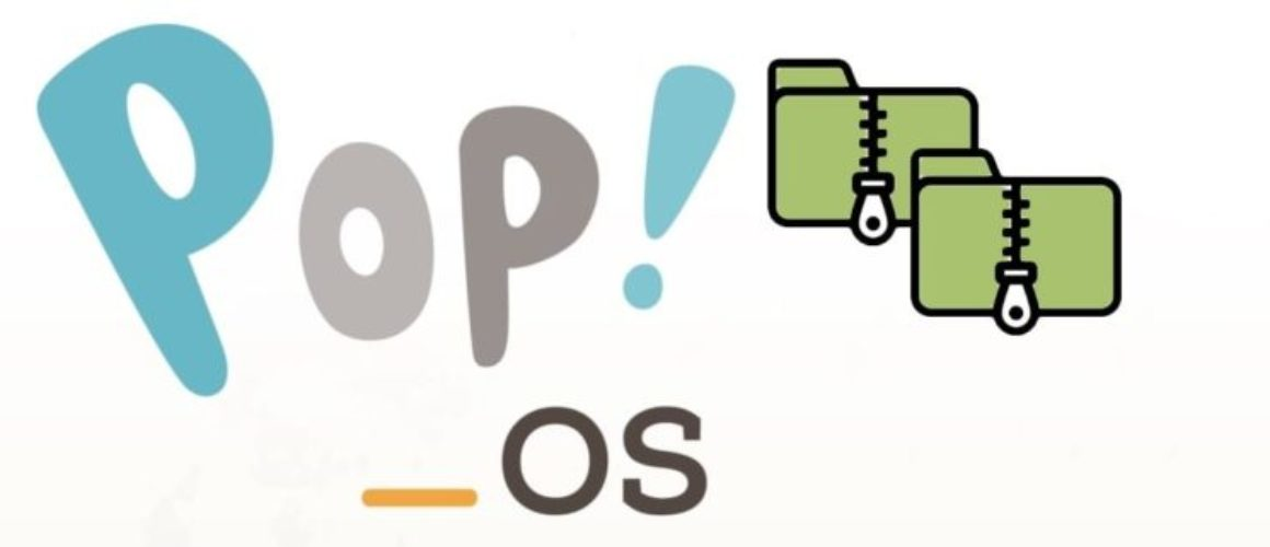 Pop!_OS banner compression